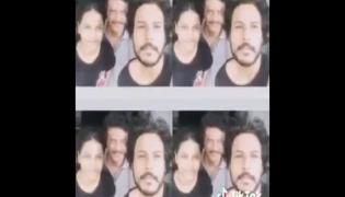 Sundeep Kishan Gives A Stylish Haircut To His Dad Viral TikTok Video