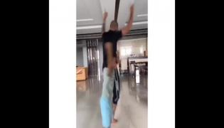 Shikhar Dhawan Dance Video With Son