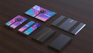 Xiaomi patents for foldable smartphone with rotating quad camera - Sakshi