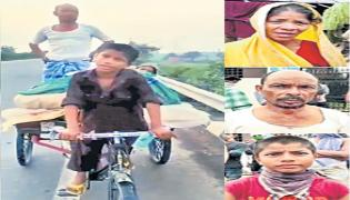 Migrant Worker Wife Sorga Problem Of Rickshaw Story In Sakshi Family