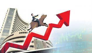 Sensex jumps 1000 points and Nifty ends over 9300 points - Sakshi
