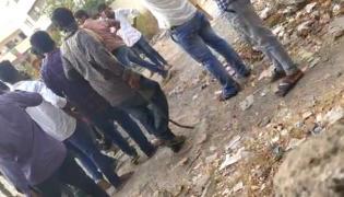 Conflict Between College Students In Vijayawada - Sakshi