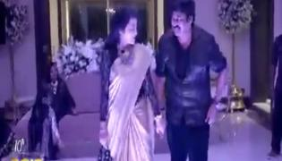 Chiranjeevi Dance With Old Heroines Kushboo And Radha