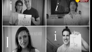 Bollywood Actors Special Video About I For INDIA