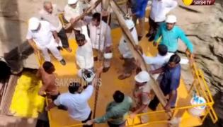 Anil Kumar Yadav Visits Veligonda Head Regulatory Project Video