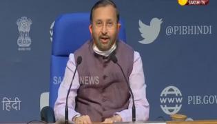 Prakash Javadekar Press Conference At New Delhi