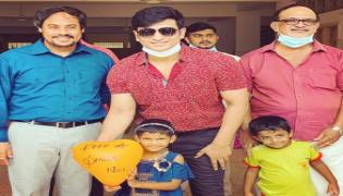 Nikhil siddharth Celebrates His Birthday At Care And Share Charitable Trust - Sakshi