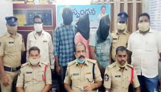 Prostitution Scandal Reveals SPSR Nellore Police - Sakshi