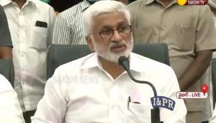 Vijaya Sai Reddy Press Meet At Visakhapatnam