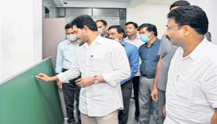 CM YS Jagan Review Meeting On Nadu-Nedu In Govt Schools - Sakshi