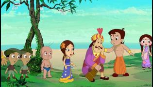 Chhota Bheem Marry Chutki: Makers Says They Are Still Kids - Sakshi