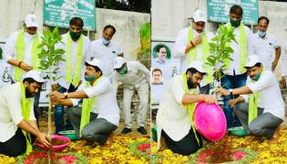 Hero Sharwanand Planted Tress And Further Nominated Producers - Sakshi