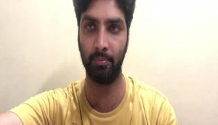 Swathi Chinukulu Serial Actor Bharatwaj Tests positive Instagram Video