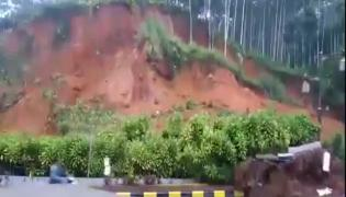Man Narrow Escape From Landslide Viral Video