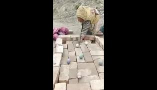 Kids Makeshift Board And Skillful Playing Video Gone Viral