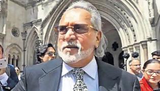 Indian banks pursue Vijay Mallya bankruptcy order in UK court - Sakshi