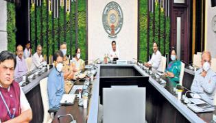 CM YS Jagan Video Conference with Narendra Modi On Covid-19 Prevention - Sakshi