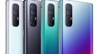 Oppo Reno 3 Pro Price in India Cut Once Again - Sakshi