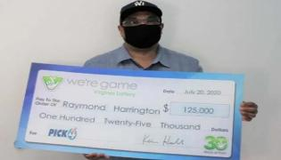 Man buys 25 Lottery Tickets Wins 25 Times In America - Sakshi