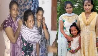 Three Girl Child Deceased in Locked Car in Krishna - Sakshi