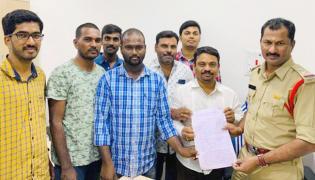 BJP Leader Filed Case Against Former Mazlis MLA - Sakshi