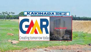GMR to sell 51percent stake in Kakinada SEZ to Aurobindo Realty - Sakshi