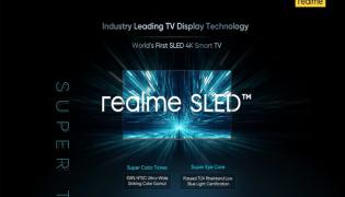 Realme SLED 4K Smart TV Launching in India Soon - Sakshi
