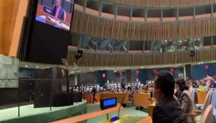 Indian Delegate Walks Out of UN General Assembly