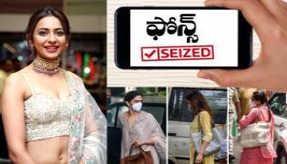 Mobile phones of Deepika Shraddha Rakul Preet Singh seized - Sakshi