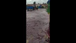 Viral Video: Winery Tank Containing Red Wine Explodes
