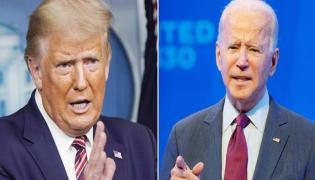 Donald Trump And Biden Debate Started In USA - Sakshi