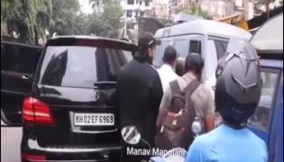 Ranveer Singh Minor Accident At Mumbai