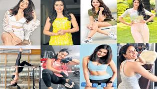 Tollywood Actress and their Fitness Workouts - Sakshi