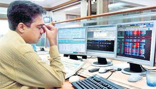 Sensex and Nifty lose 4-day rising streak amid mixed global cues - Sakshi