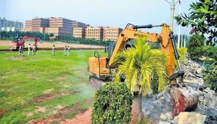 JAC Complains To CBI To Probe GITAM University Land Grabs - Sakshi