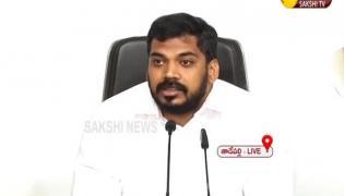 Minister Anil Kumar Yadav Press Meet At Tadepalli