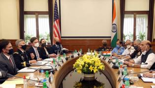 Rajnath Singh Says India Is Delighted To Host US Secy Of Defence - Sakshi