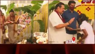 Sri Lankan PM Mahinda Rajapaksa Wishes On Vijayadashami