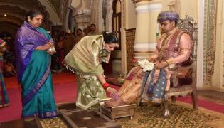 Dussehra Celebrations Were Held At Amba Palace In Mysore - Sakshi