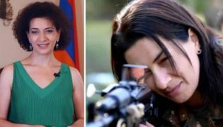 PM Nikol Pashinyan Wife Anna Hakobyan Military Training - Sakshi