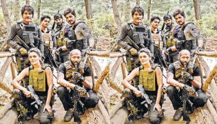 Nagarjuna Wild Dog shooting photo release - Sakshi