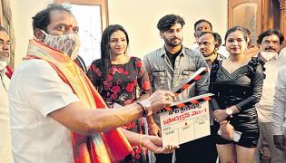 Athadevadu Movie Opening By Minister V Srinivas Goud - Sakshi