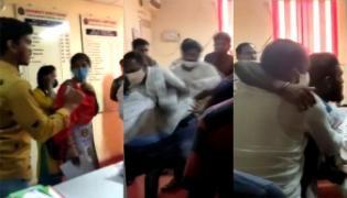 Non Borders Attack On Student In Kakatiya University - Sakshi
