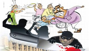 Crime rate in AP lower than national level - Sakshi