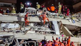 Videos Capture Horrific Turkey Quake - Sakshi