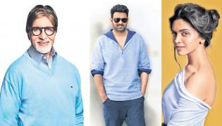 Amitabh Bachchan joins Deepika Padukone and Prabhas in next - Sakshi
