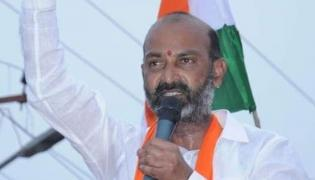 Telangana BJP President Bandi Sanjay Comments On CM KCR - Sakshi