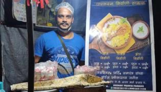 Cruise Chef Sells Biryani Roadside Stall In Mumbai - Sakshi
