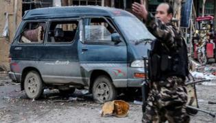 Suicide Car Bomb Explosion In Afghanistan Security People Deceased - Sakshi