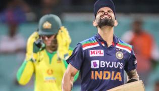 Netizens Slams Kohli Captaincy For Failure In Second ODI With AUS - Sakshi